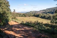 风景Itatiba圣保罗巴西 免版税库存图片