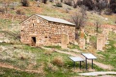 风景Novarank修道院在亚美尼亚 它在1205年建立了 位于它从Ye的122 km 库存图片