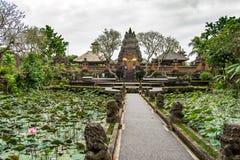 风景Tratitional巴厘语arquitecture寺庙 库存图片
