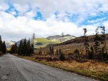 风景Vysoke Tatry在秋天17 库存图片