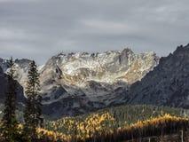 风景Vysoke Tatry在秋天19 免版税库存图片
