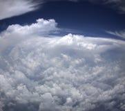 风暴从上面 免版税库存图片