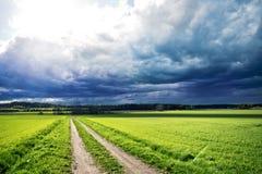 风暴的末端 免版税图库摄影