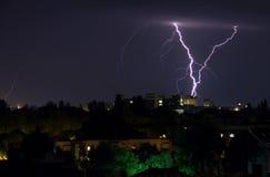 风暴雷 免版税图库摄影