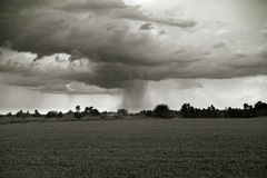 风暴雷 库存图片