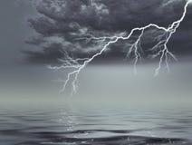 风暴 向量例证