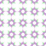 风格化旋转的花格子背景 库存图片