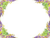 风格化无缝的花卉样式 免版税图库摄影