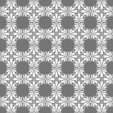 风格化灰色铺磁砖无缝的纹理 向量例证