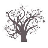 风格化结构树 免版税库存图片