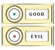风格化门铃按钮 皇族释放例证