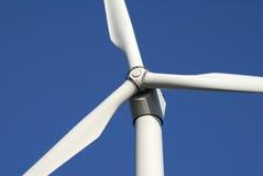 风的接近的涡轮 免版税库存照片