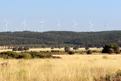 风的能源 免版税库存照片