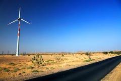 风的能量 库存照片