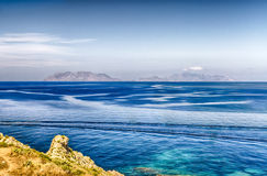 风神海岛意大利 库存照片