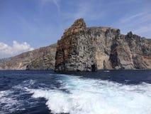 风神海岛 库存照片