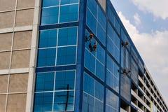 风窗清洁器在曼谷,泰国 免版税图库摄影