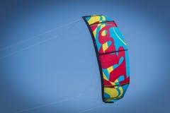 风筝冲浪的设备 库存图片