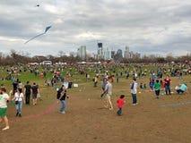 风筝节日在奥斯汀得克萨斯 库存图片