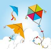 风筝设计 库存照片