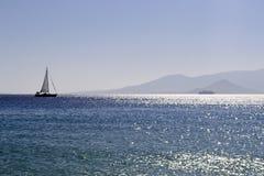 风船到海里 图库摄影