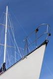 风船和帆柱 库存照片