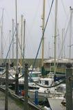 风船在港口 库存图片