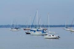 风船在Keyport新泽西 免版税图库摄影