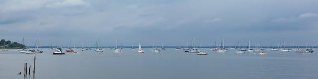 风船在Keyport新泽西 库存图片