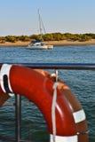 风船的看法 免版税库存图片