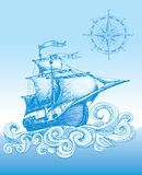 风船 免版税库存图片