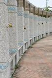 风车公园在台湾 免版税库存图片