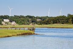 风车力量 库存图片