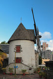 风车博物馆  路易斯・毛里求斯端口 库存图片
