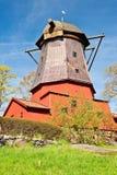 风车在斯德哥尔摩 免版税库存照片