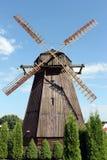 风车在比拉罗斯 免版税库存图片