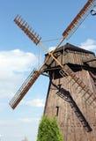 风车在比拉罗斯 库存图片