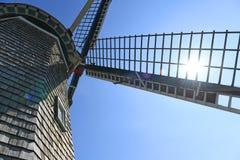 风车在荷兰密执安 免版税库存图片