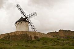风车在西班牙 免版税库存图片