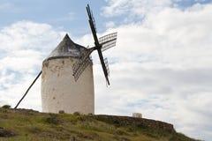 风车在西班牙 免版税图库摄影