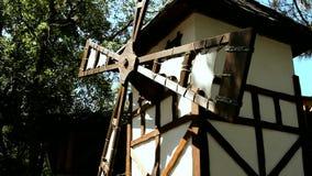 风车在Holand在夏日 影视素材