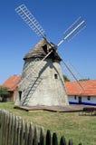 风车在Kuzelov 库存图片