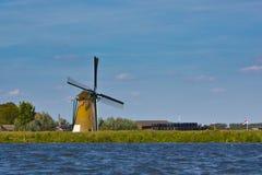 风车在Netherland 免版税库存照片