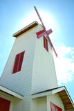 风车房子在泰国 免版税库存照片