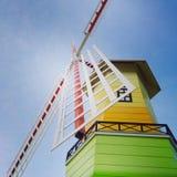 风车房子 库存图片