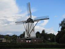 风车担当纪念品给荷兰城市` s创立人 库存照片