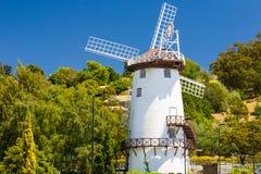 风车朗塞斯顿塔斯马尼亚岛 免版税库存图片