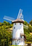 风车朗塞斯顿塔斯马尼亚岛 库存照片