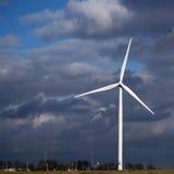 风车涡轮 免版税库存图片