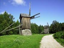 风车爱沙尼亚 图库摄影